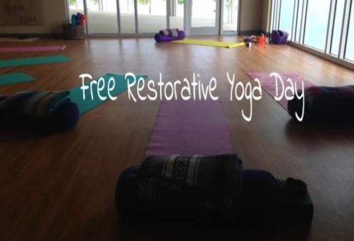 Free Restorative Yoga Day