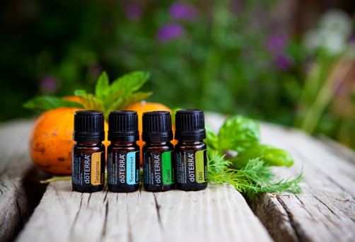 Stress Less with Essential Oils