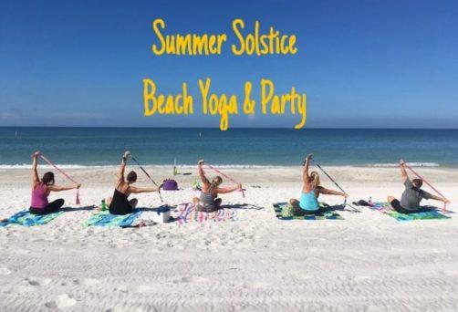 Summer Solstice Beach Yoga & Party