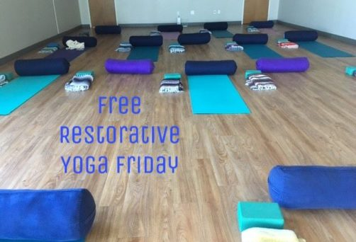 Free Restorative Yoga Friday