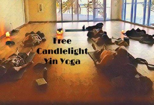Free Candlelight Yin Yoga