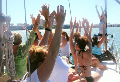 Half Day Women's Yoga Sail Retreat