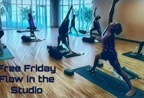 Free Friday Flow in the Studio