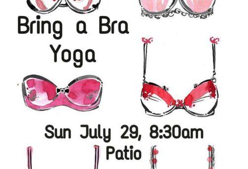 Bring a Bra, Free Community Yoga
