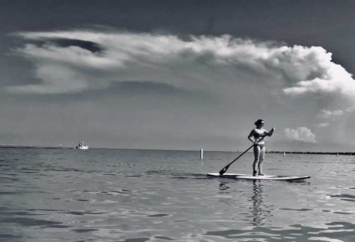 Beginner Paddleboard Yoga