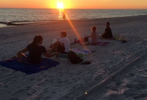 Beach Sunset Yoga Pop-Up Class