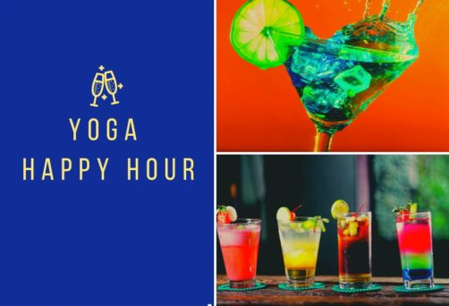 Live Zoom Yoga Happy Hour