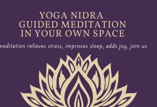 Live Zoom Yoga Nidra Guided Meditation