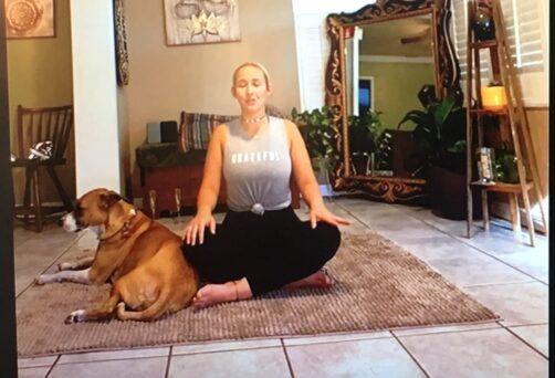 Natalie on the Go Yoga Class