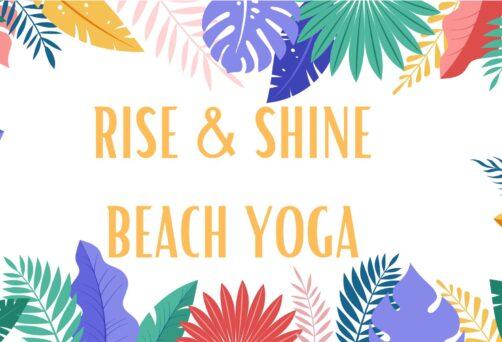 Rise & Shine Beach Yoga